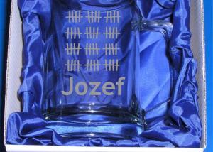 darčekový politer na pivo - darček na šesťdesiatku pre Jozefa