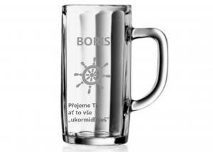 gravírovaný pohár - darček na štátnice