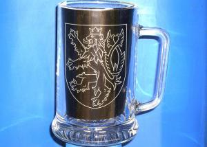 pohár ako upomienkový predmet