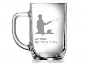 pohár s menom - darček pre učiteľov