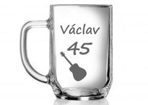 Originálny darček k narodeninám pre hudobníka - gitaristu