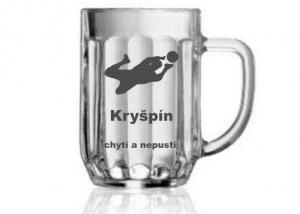 Pivný pohár ako darček pre fanúšika futbalu