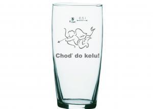 darček pre kamaráta - vtipný gravírovaný pohár
