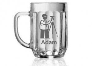 dar pre fotografa, priateľa - pohár s menom
