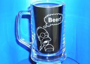 Pohár Homer Simpson