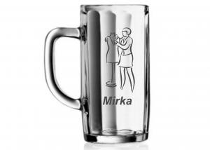 originálny dar pre svokru - poháre s menom